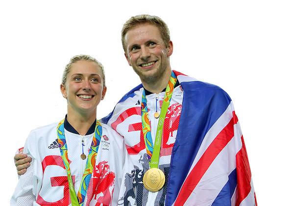 Olympics golden couple Laura Trott and Jason Kenny dominated their cycling events in Rio