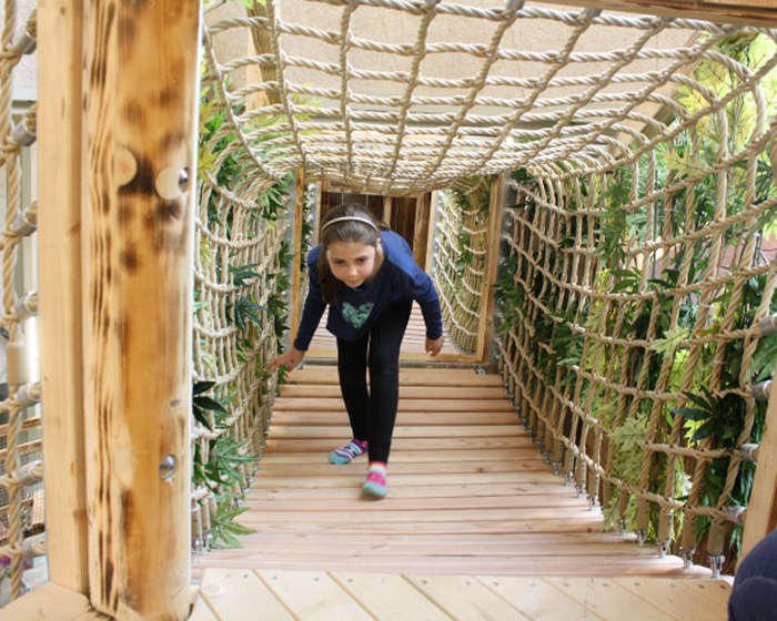Eibe brings natural world indoors with adventure play area
