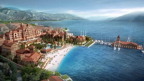 The €500m (US$688m, £413m) Portonovi luxury resort is set to open in 2016 / Portonovi