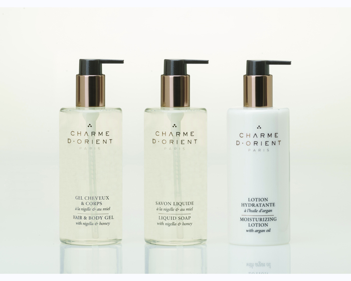 Charme D'Orient release amenities line