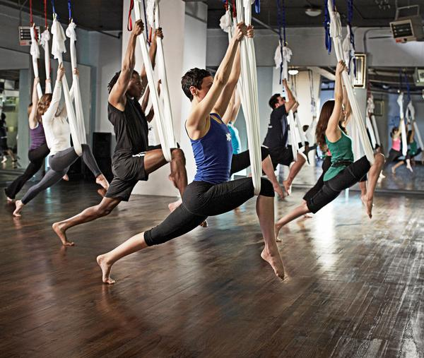 Group exercise has become the preferred approach to fitness