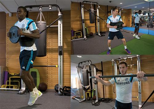 Chelsea FC chooses Technogym to supply fitness equipment