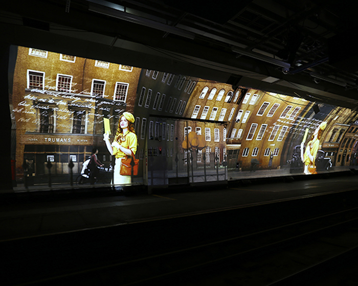 Digital Projection installed in Mail Rail experience at London's Postal Museum