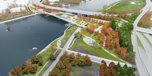 The park will soon enter the pre-construction phase / OMA and OLIN