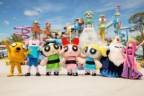 Cartoon Network Amazone is Thailand's first themed waterpark / Polin