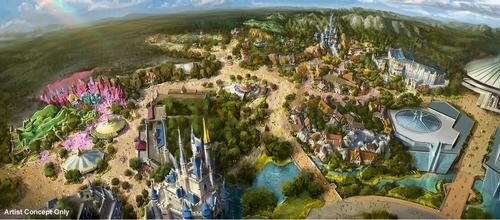 Disney reveals ¥500bn expansion plans for Tokyo parks