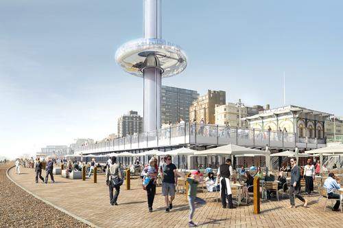 Brighton's i360 plans finally underway as London Eye team reunites to build iconic structure