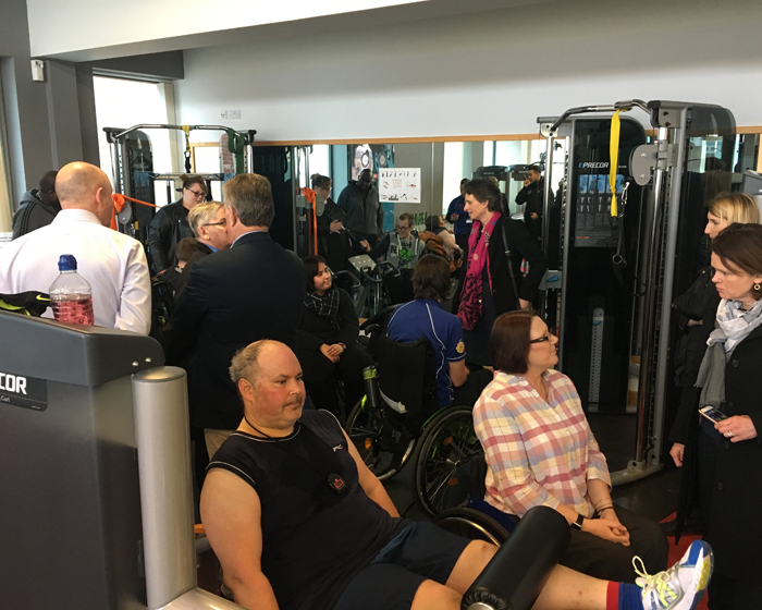 Precor completes installation of accessible equipment at John Pounds Centre