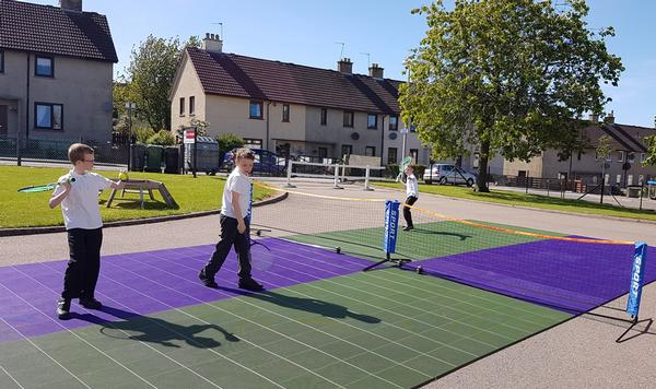 The PowerGame flooring is being used daily by all members of the family  – Paul O'Connor, Inchgarth Community Centre