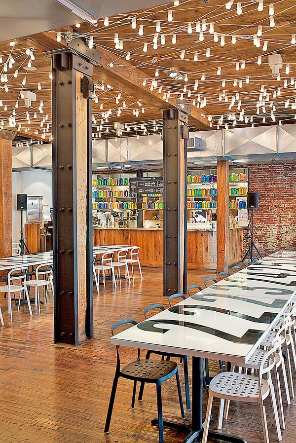 27 days of Food:  Biber Architects designed a pop-up restaurant for the James Beard Foundation