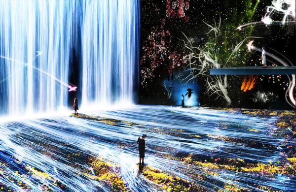 Paris' La Villette will host teamLab's Au-Dela des Limites exhibition this year / Photo: nologo