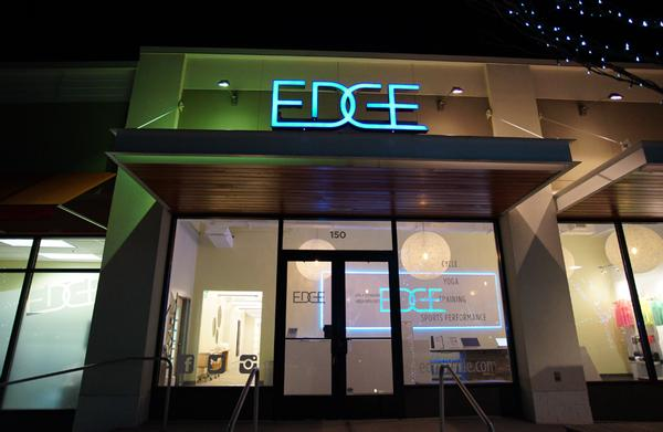Egde offers boutique yoga, cycling and youth athletic performance