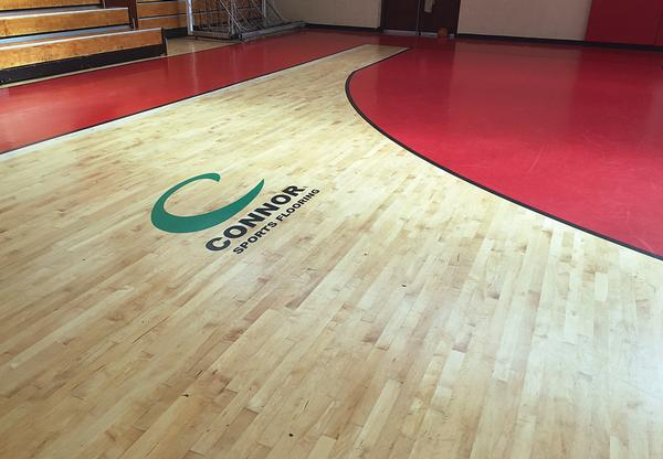 Gerflor flooring provides a high quality surface for sports at Prince William of Gloucester Barracks