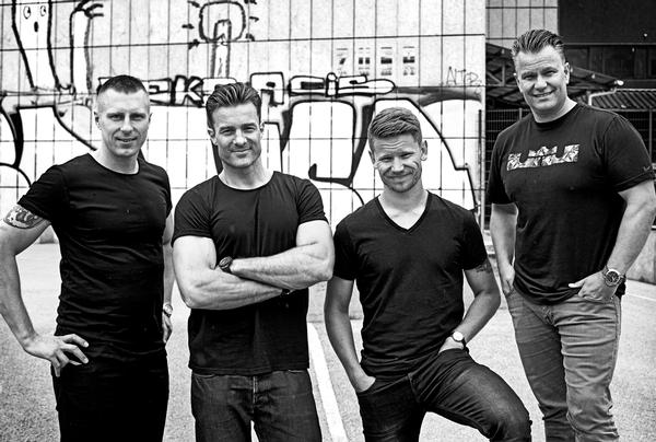 The Repeat management team (l-r): Peter Rehhoff, Rasmus Ingerslev, Peter Modin and Hans-Henrik Hans-Henrik Sørensen