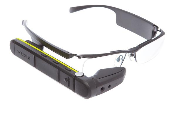 The eyewear allows users to work remotely and experience offsite locations as if they were physically there