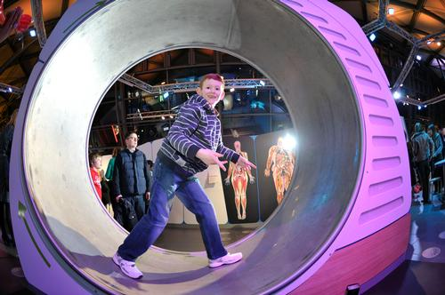 New attractions lead to record figures for Glasgow Science Centre