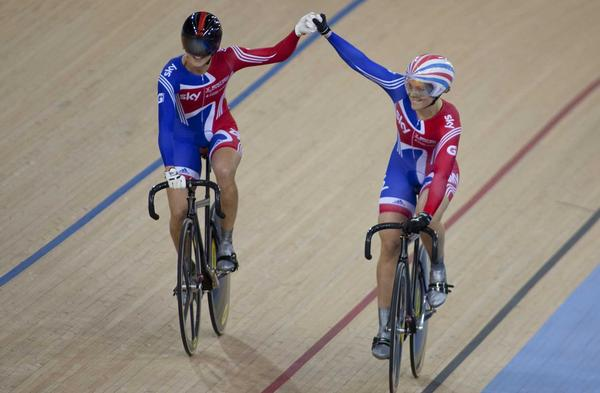 The number of female role models, such as cyclists Victoria Pendleton and Jess Varnish, is increasing