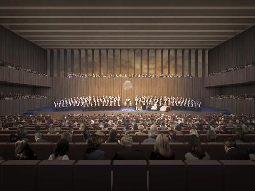 The Nobel Centre would become permanent home to the Nobel Peace Prize / David Chipperfield Architects