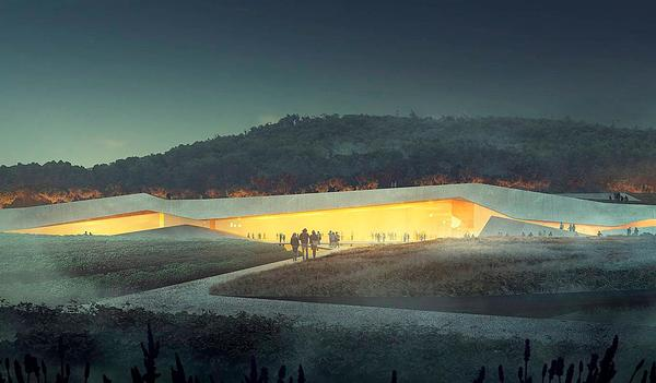 The Lascaux IV Caves Museum will include a recreation of the caves