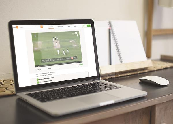 The platform will allow the delivery of a viewing experience similar to that of pro-cricket clubs