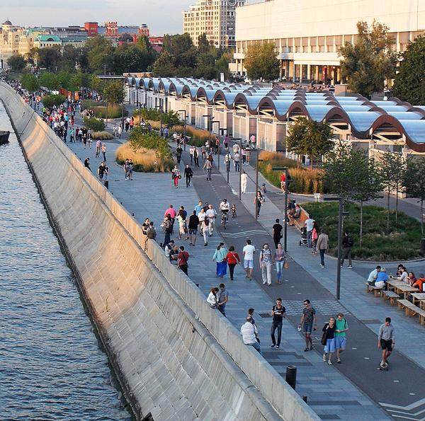 "Moscow has been ""given back to the people,"" according to Gehl"
