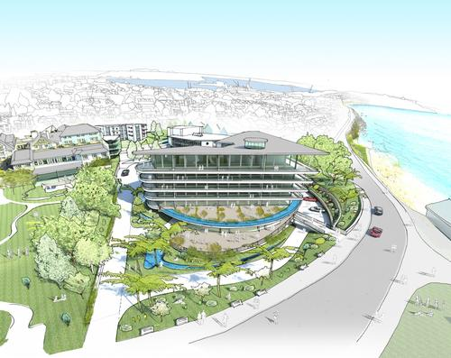 Falmouth Town Council Planning Committee has given its support to the project / St Michael's Spa & Wellness Resort