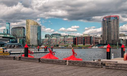 The docklands will undergo a 15-year transformation / Shutterstock
