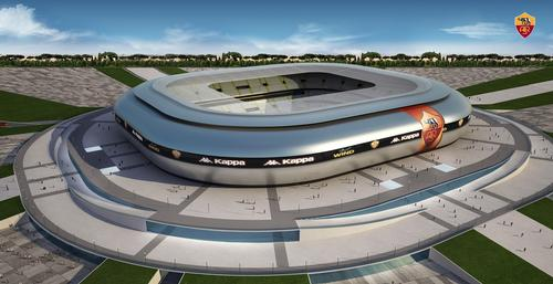 Artist's impression of AS Roma's new stadium / AS Roma