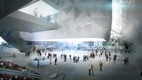 Nieto Sobejano's plans for the Guangzhou Science Museum / Nieto Sobejano