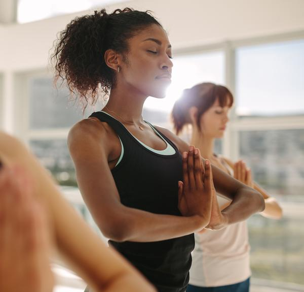 Yoga can be offered to members to aid recovery and reduce stress / Photo: SHUTTERSTOCK