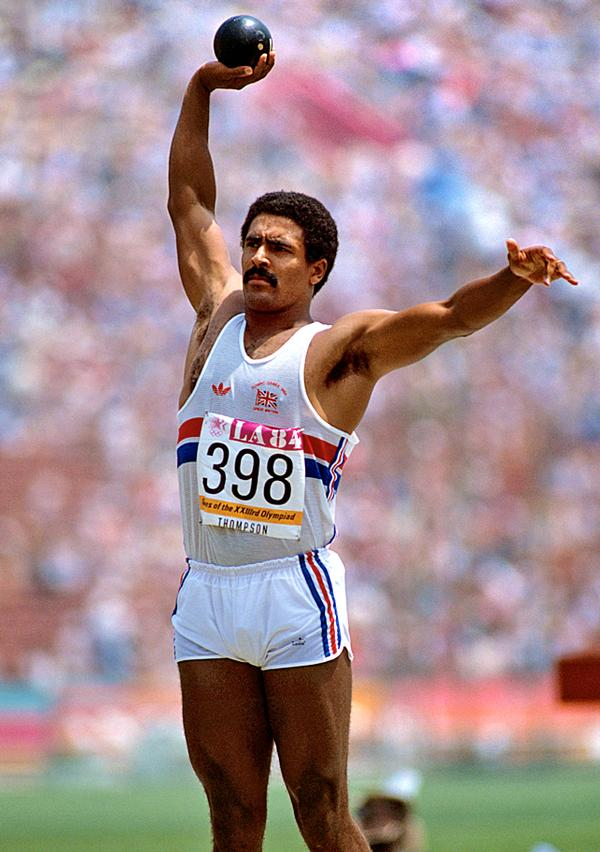 British athlete Daley Thompson dominated the decathlon event  for almost a decade / EMPICS/PA