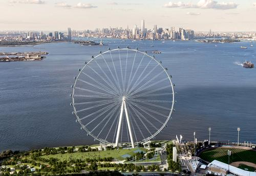 New York Wheel project sets annual target of six million visitors