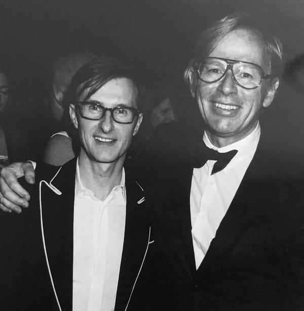 David Collins and Iain Watson