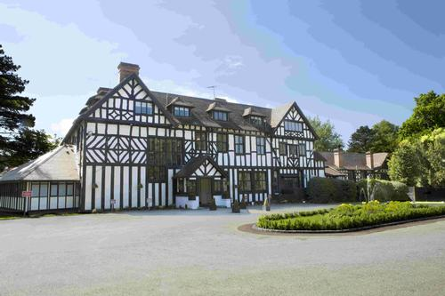 The Laura Ashley hotel is surrounded by landscaped gardens