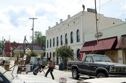 Walking Dead town used as visitor attraction listed on eBay