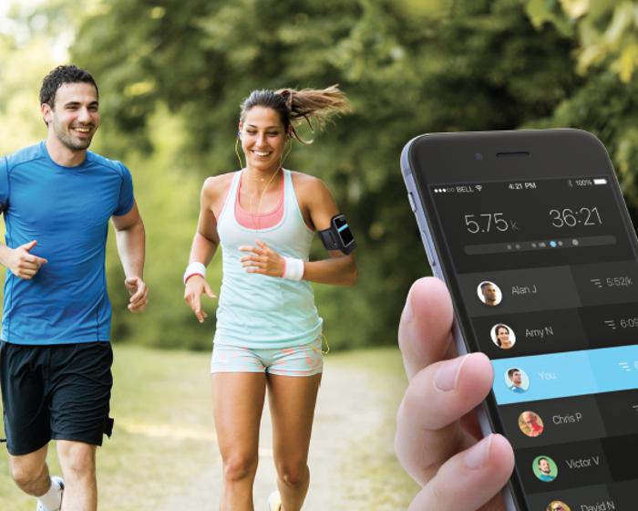 Runner robot to act as matchmaker
