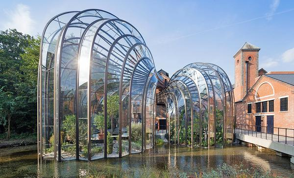 Bombay Sapphire's visitor centre and distillery in the UK