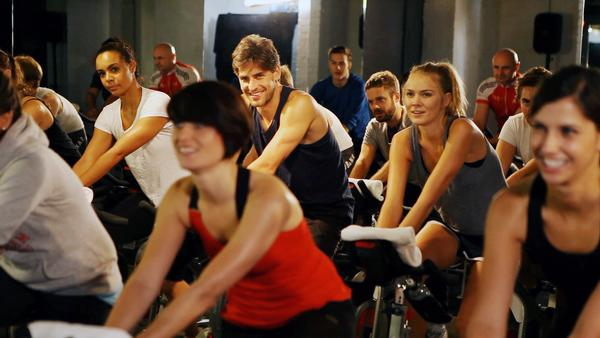 BOOM! Cycle in London offers classes styled around hip hop and disco music