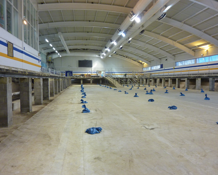 London 2012 training pool to be installed at Bath University