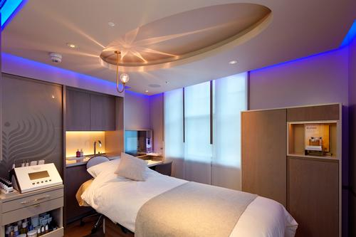 The House of Elemis includes an area dedicated to Biotec facials / Elemis