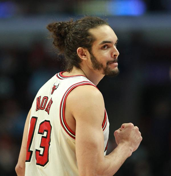 Basketball player Joakim Noah is affiliated with NeV's brands / Chicago Tribune/ABACA/PA Images