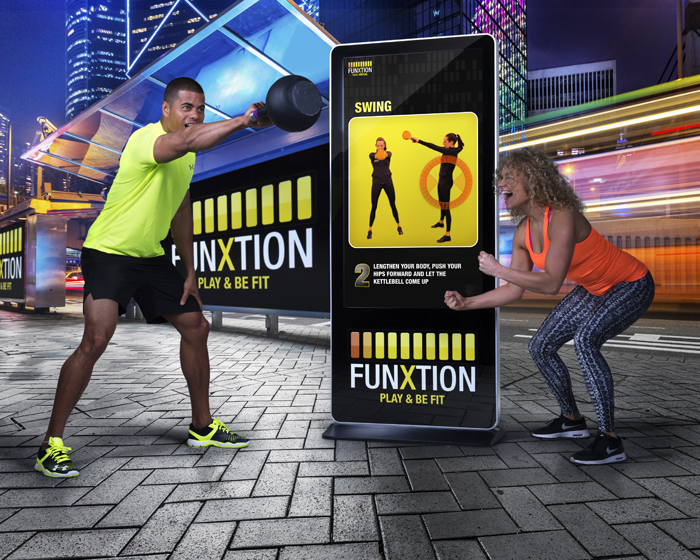 Funxtion seeks to put fun back in fitness with super-size 'smartphone'