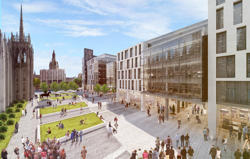 The development will transform the former council headquarters site / Muse Developments