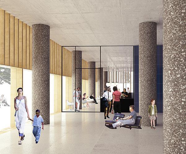 Nobel Centre in Stockholm, Sweden