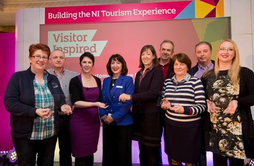 Ballyclare Activity Trail handed WorldHost Tourism Hotspot status