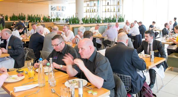 The Sports and Leisure Forum offers many excellent networking opportunities