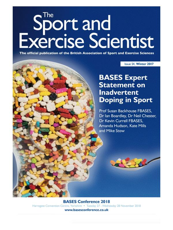 BASES' magazine has the latest sports science news and research