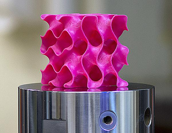 The material is created by compressing and fusing flakes of graphene