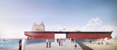 The designers believe oil tankers will become obsolete in the future / MISS3