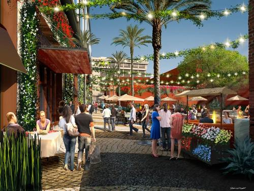 The hotel will anchor a wider Hollywood regeneration project / Rockwell Group